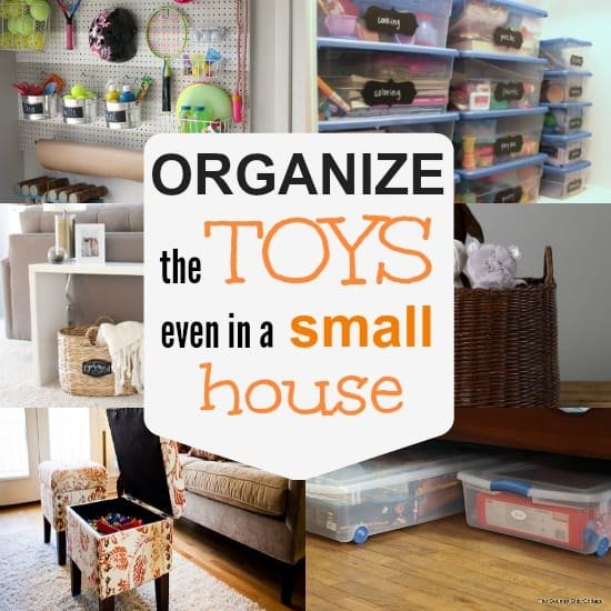 10 ways to store toys in small living spaces the for Organize small living room