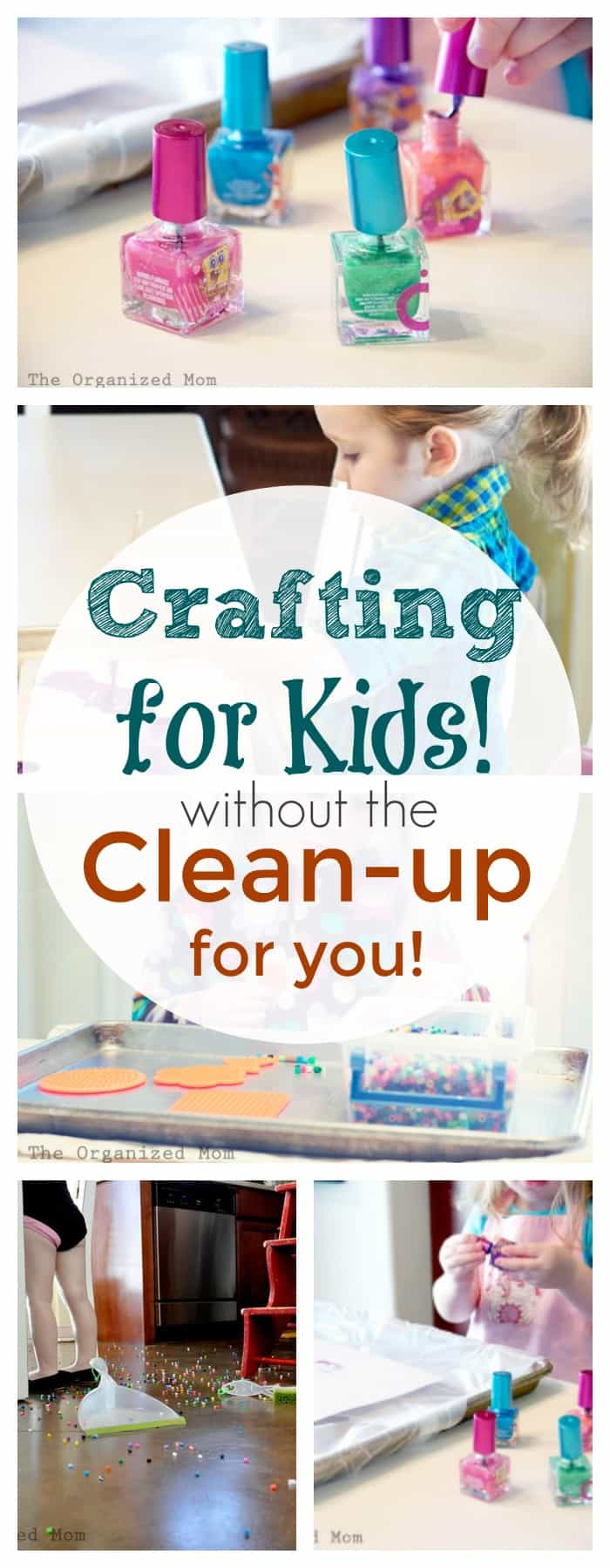 crafting for kids without the cleanup for you