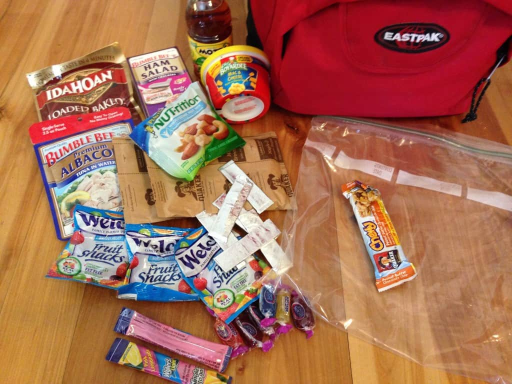 food for emergency kit
