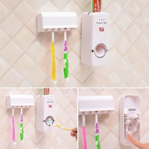 hands free toothpaste pump