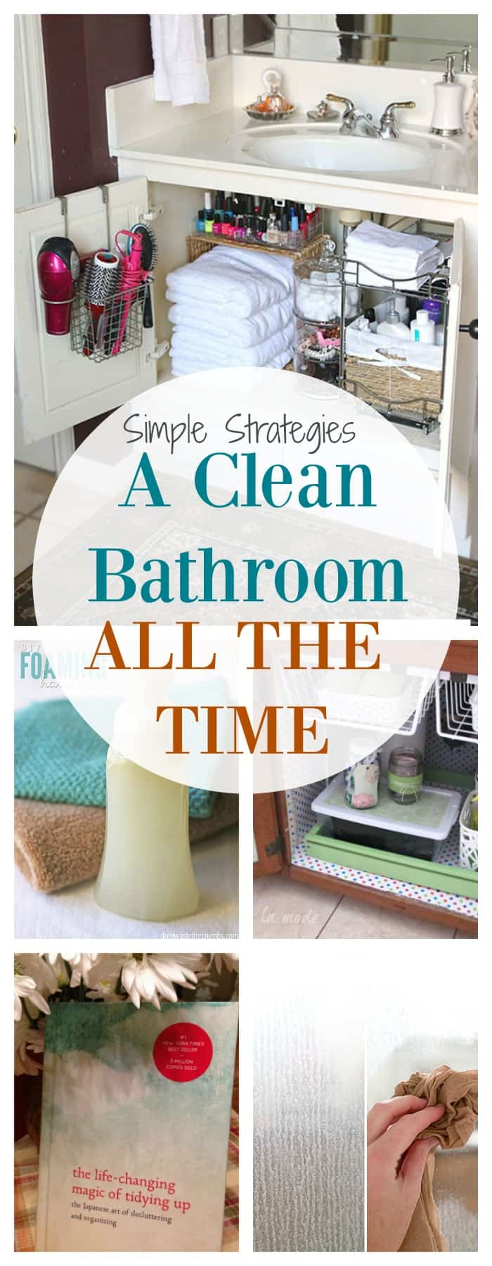 TOP tips to having a clean bathroom all the time