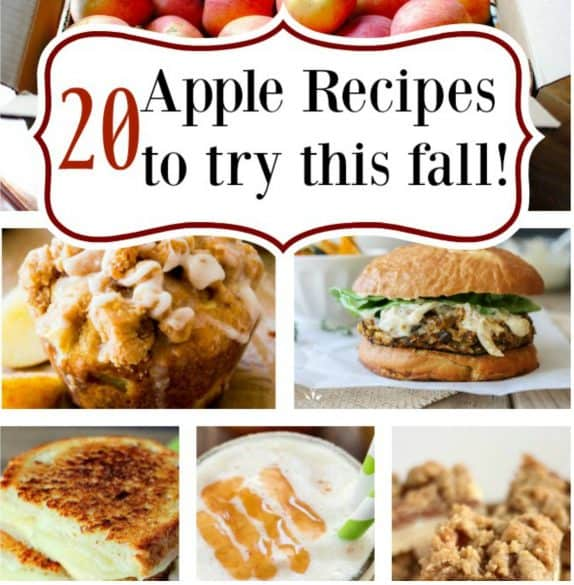 apple recipes for fall square