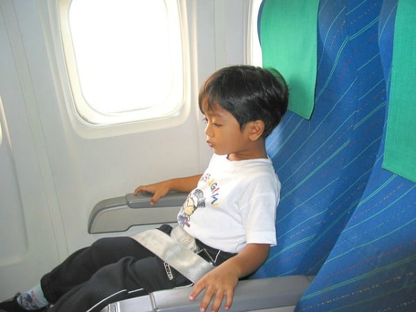 Carseat Flying with Kids