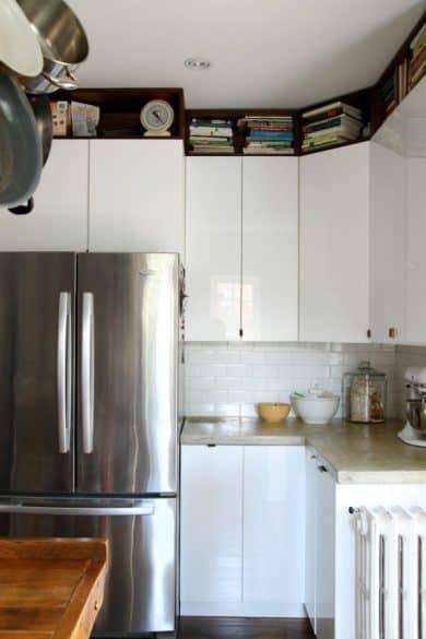 above-cupboard