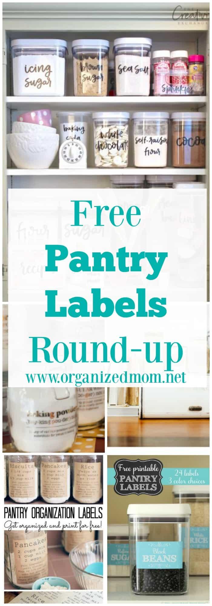 free-pantry-labels-roundup