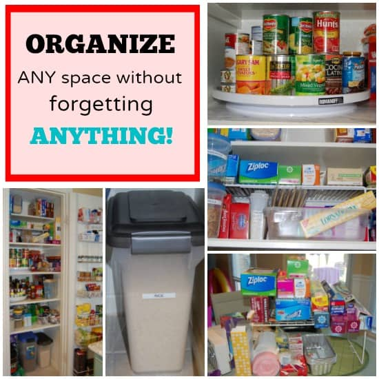 Step-By-Step Guide to Organizing Any Space