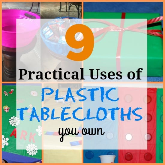 9 Unconventional Uses for Plastic Tablecloths