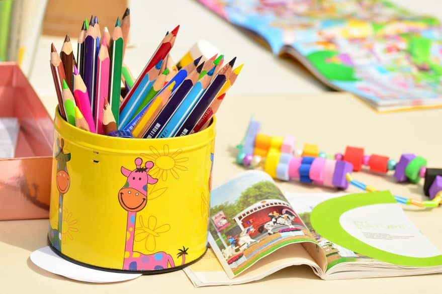 teach your kids to be organized