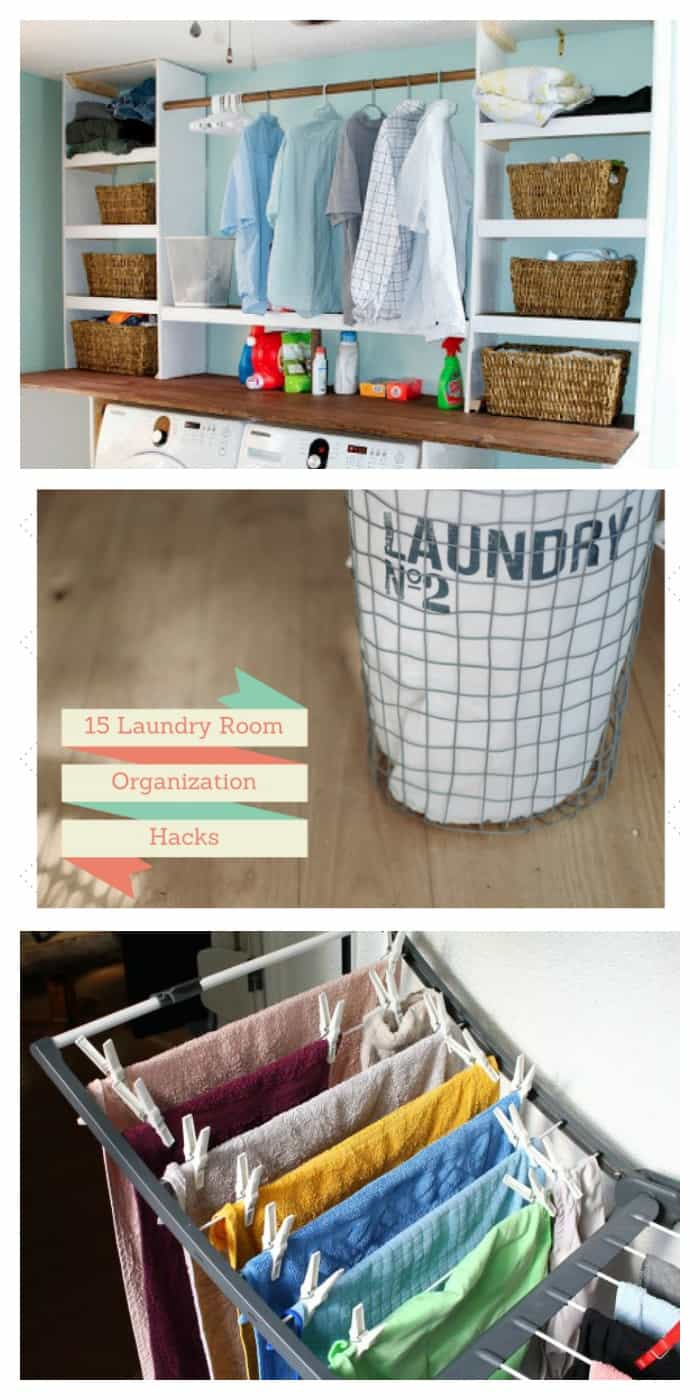 15 Laundry room hacks you can't live without