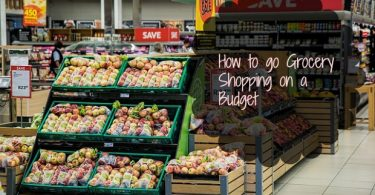 how to grocery shopping budget