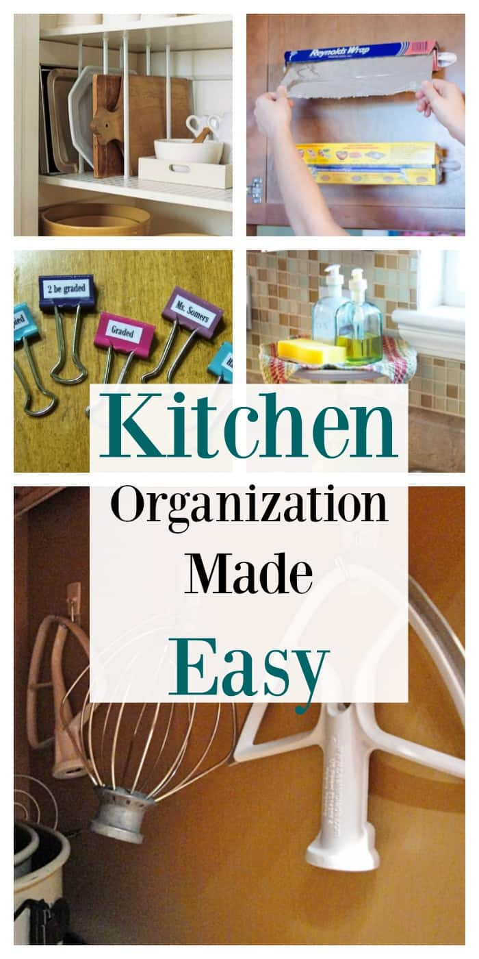 Kitchen organization made easy with 5 simple hacks