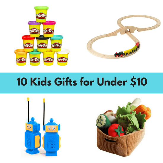 Shopping- finding gifts for kids that are under !