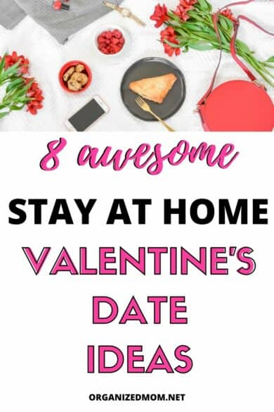 8 awesome stay at home Valentine's Day date ideas