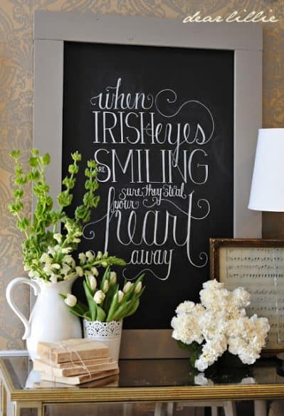 decorate for St Patrick's