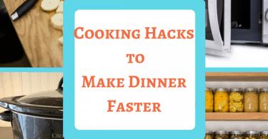 Cooking Hacks to Make Dinner Faster