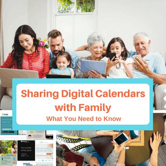 Sharing Digital Calendars