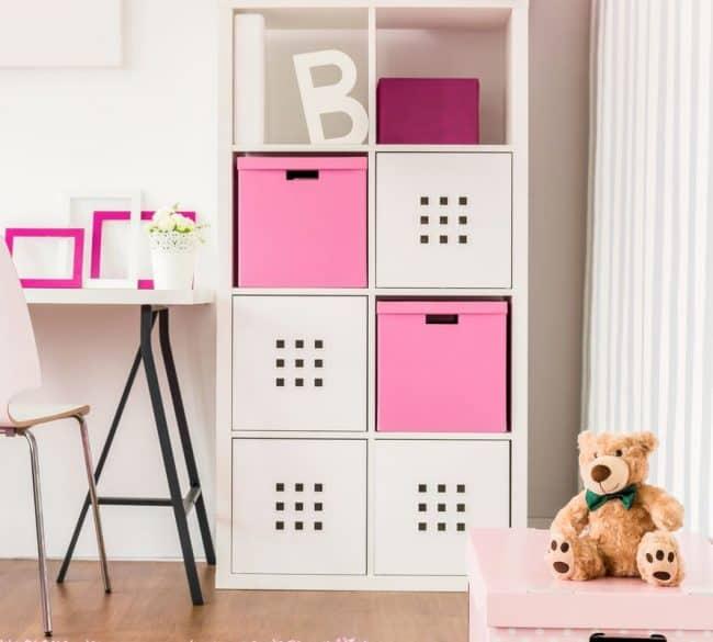 picture storage, bookshelf, boxes