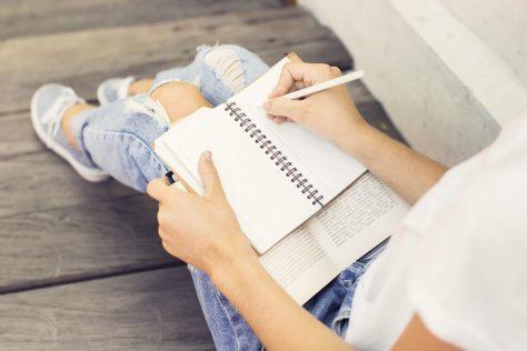 journal writing, memories