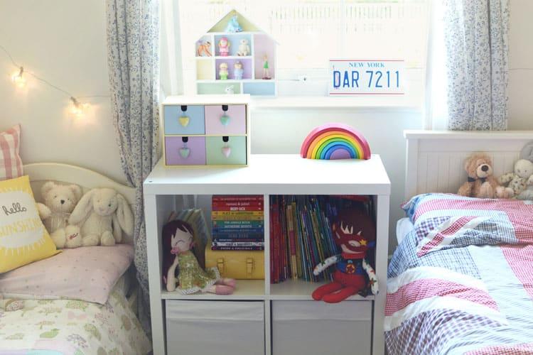 shared bookcase