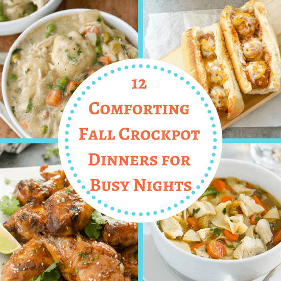 Fall Crockpot Dinners