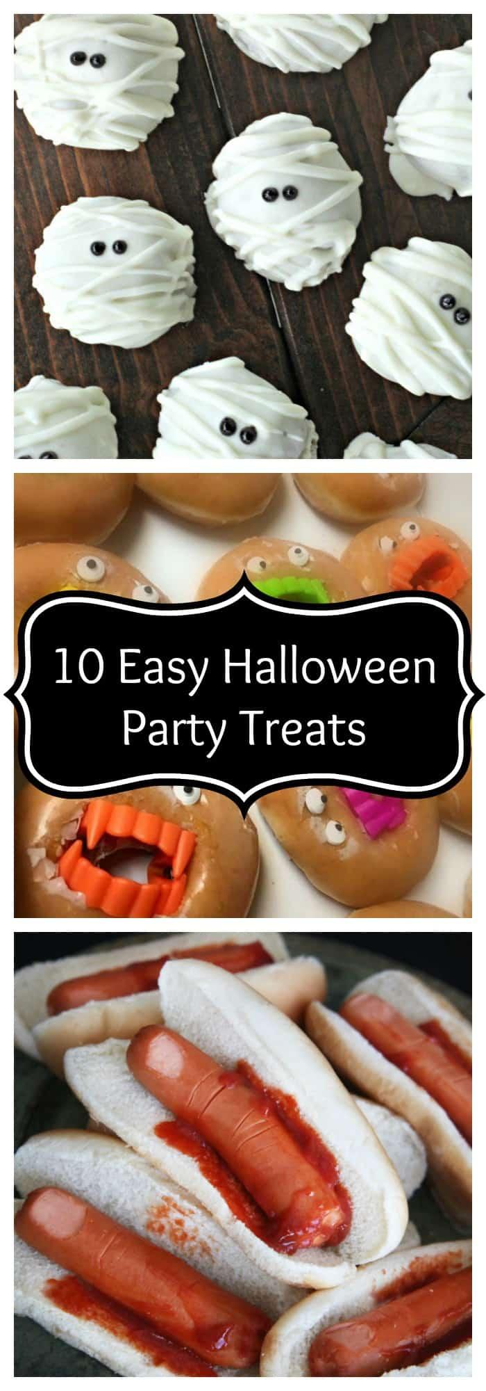 Halloween-10 Easy Halloween Party Treats- The Organized Mom