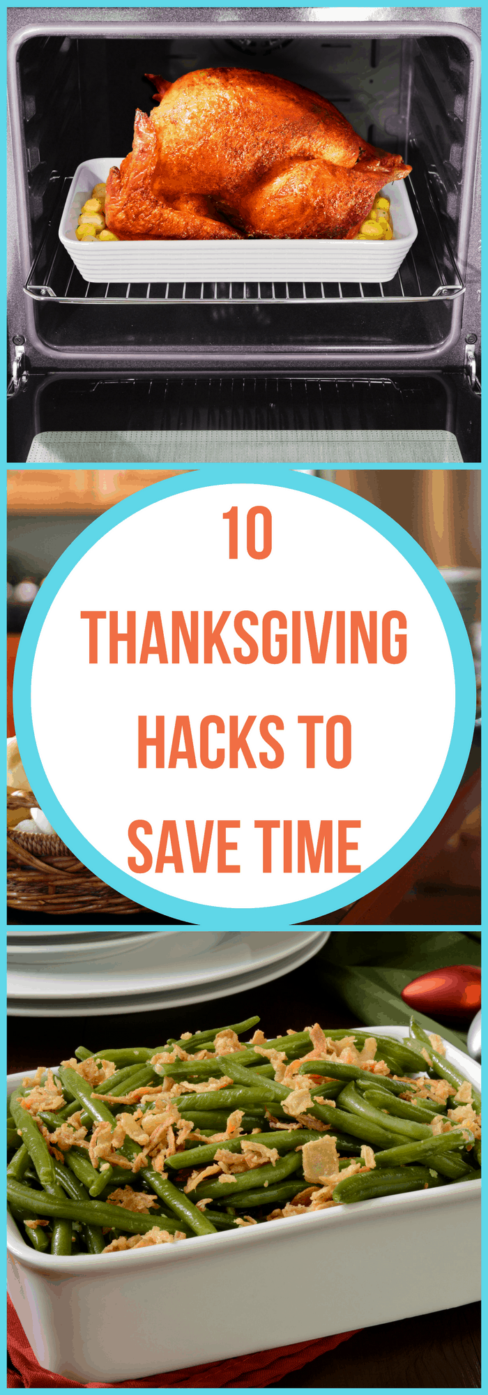 Cooking--Thanksgiving Food Hacks to Save Time--The Organized Mom