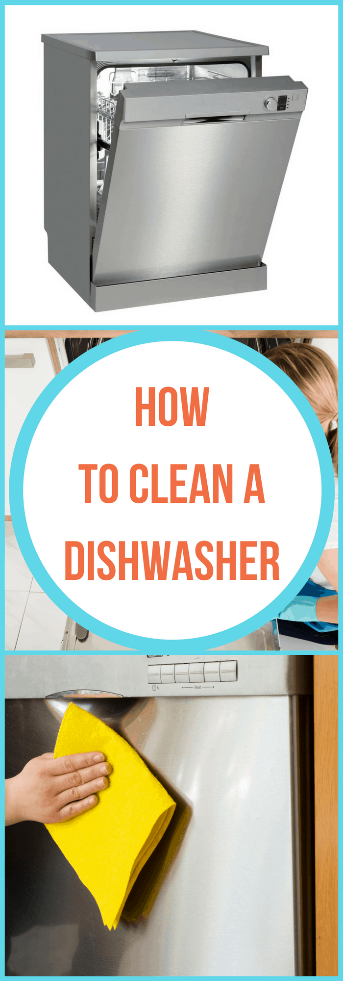 Cleaning--How to Clean A Dishwasher