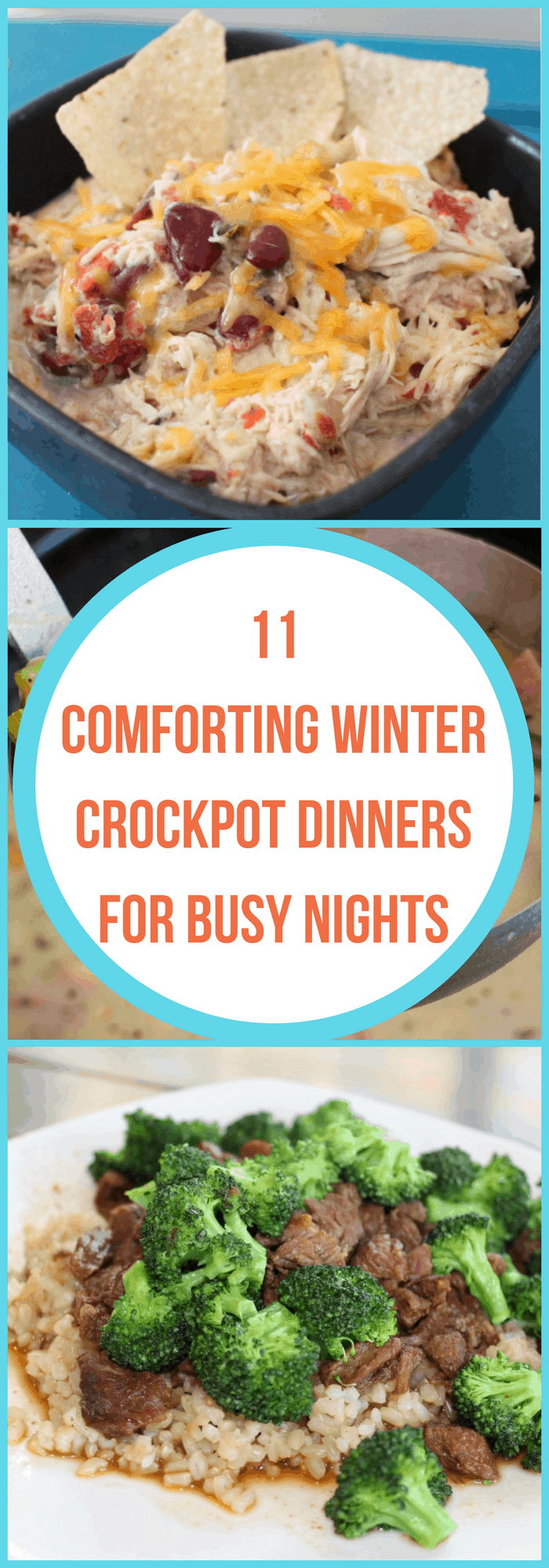 Cooking--Comforting Winter Crockpot Dinners for Busy Nights--The Organized Mom