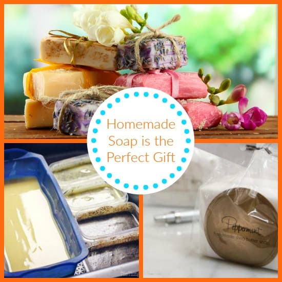 Homemade soap perfect gift