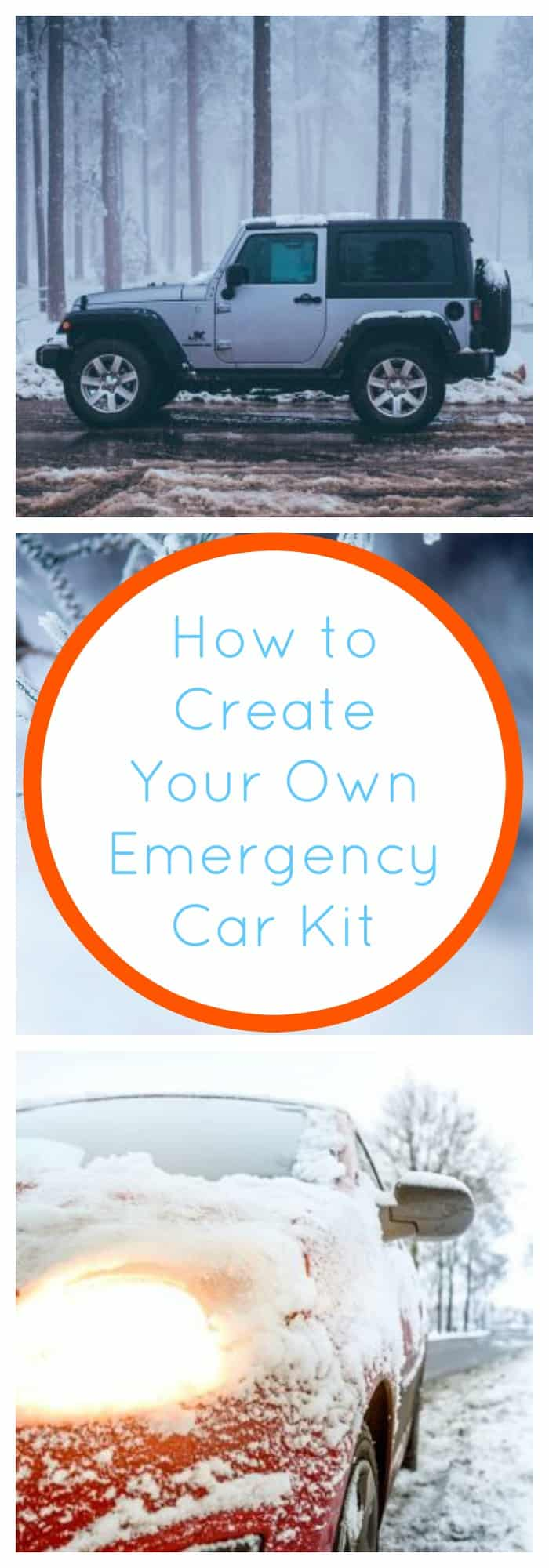 Organization--How to Create Your Own Emergency Car Kit--The Organized Mom