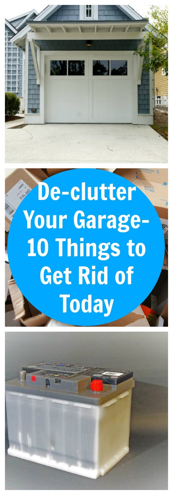 Organization-De-clutter Your Garage-10 Things to Get Rid of Today--The Organized Mom