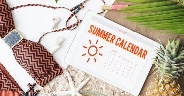 create summer calendar