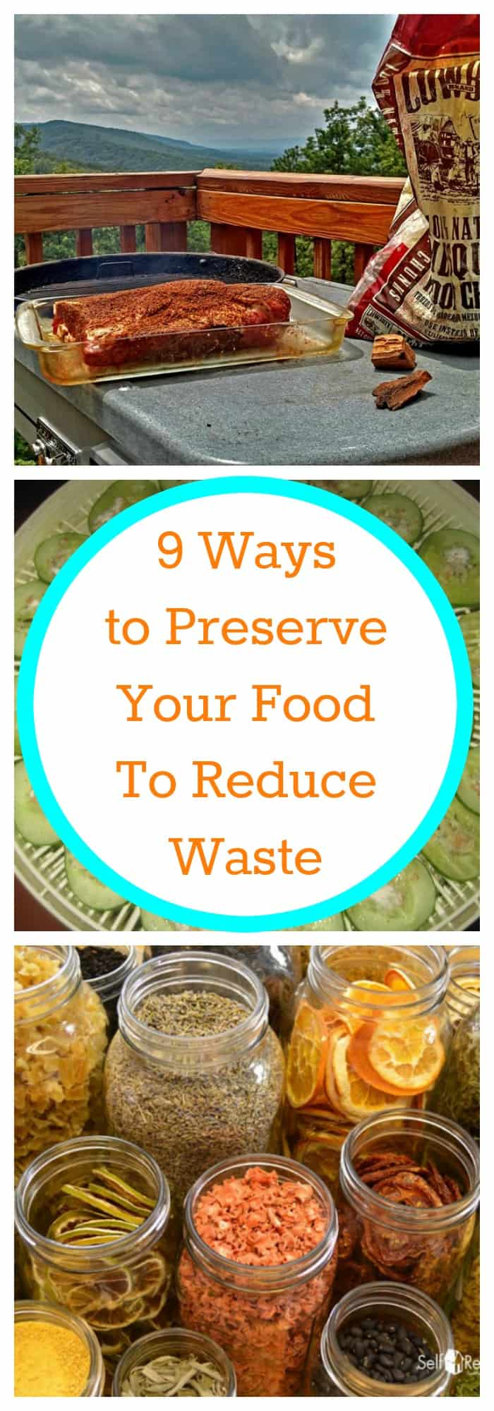 Food--9 Ways to Preserve Your Food to Reduce Waste--The Organized Mom