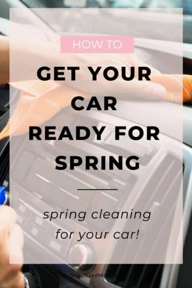 how to get your car ready for spring