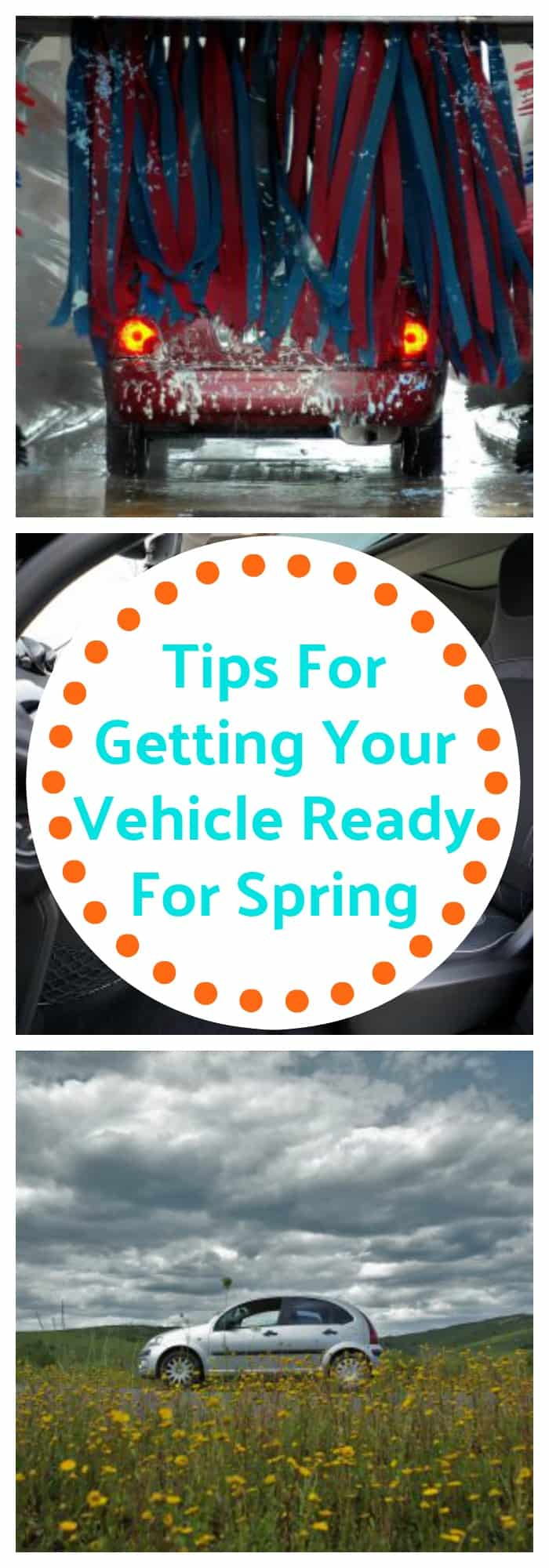 Organization--Tips For Getting Your Vehicle Ready For Spring--The Organized Mom