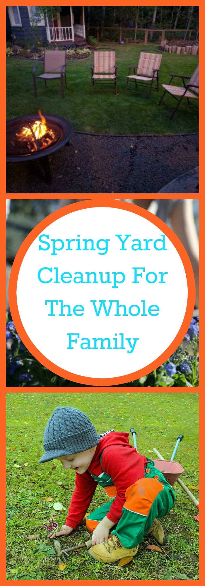 Spring--Spring Yard Cleanup For the Whole Family--The Organized Mom