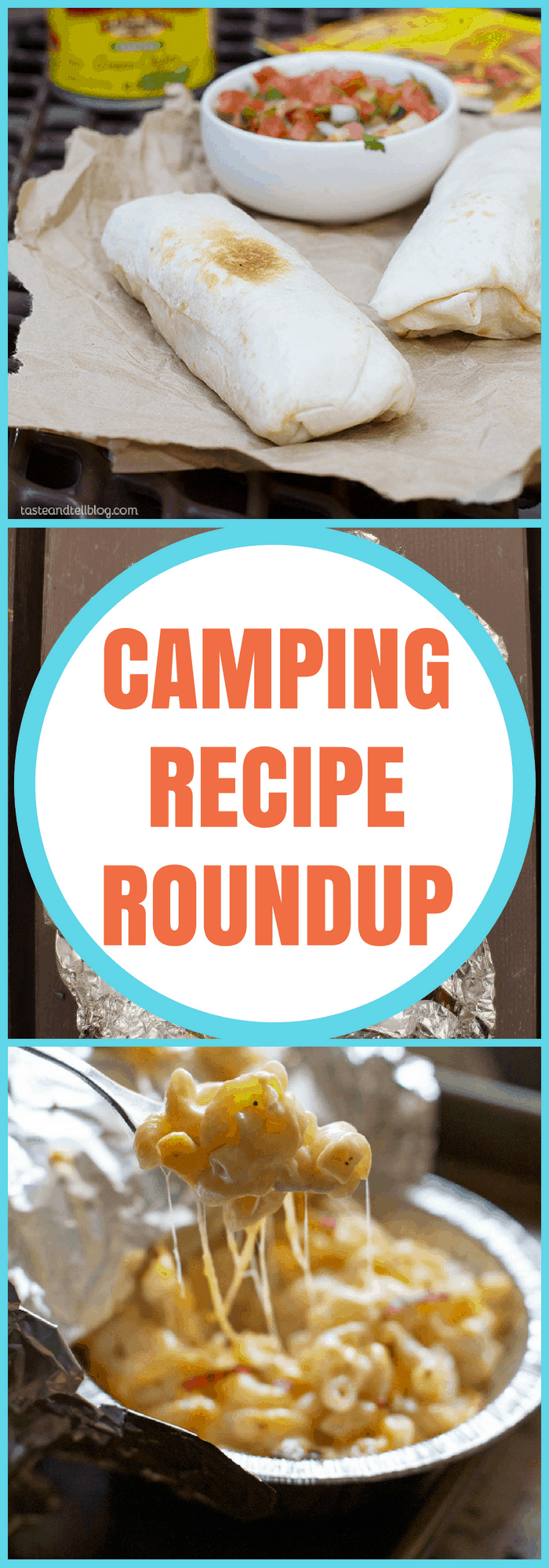 Family--Camping Recipe Roundup--The Organized Mom