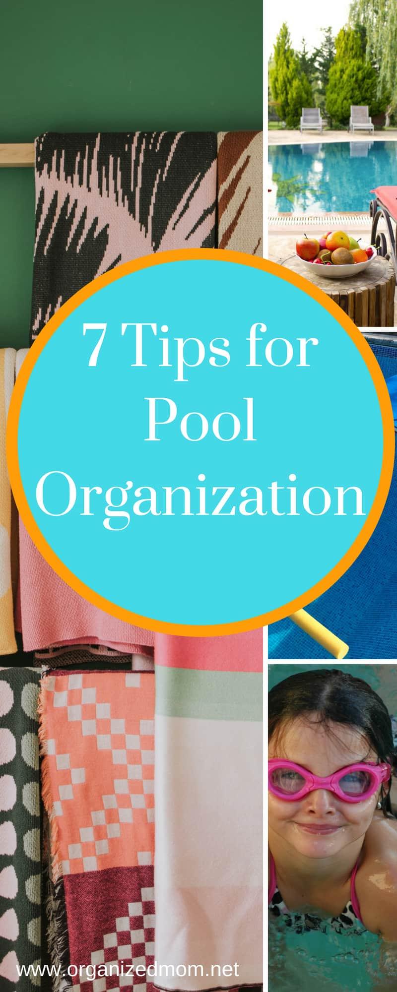 pool organization pin