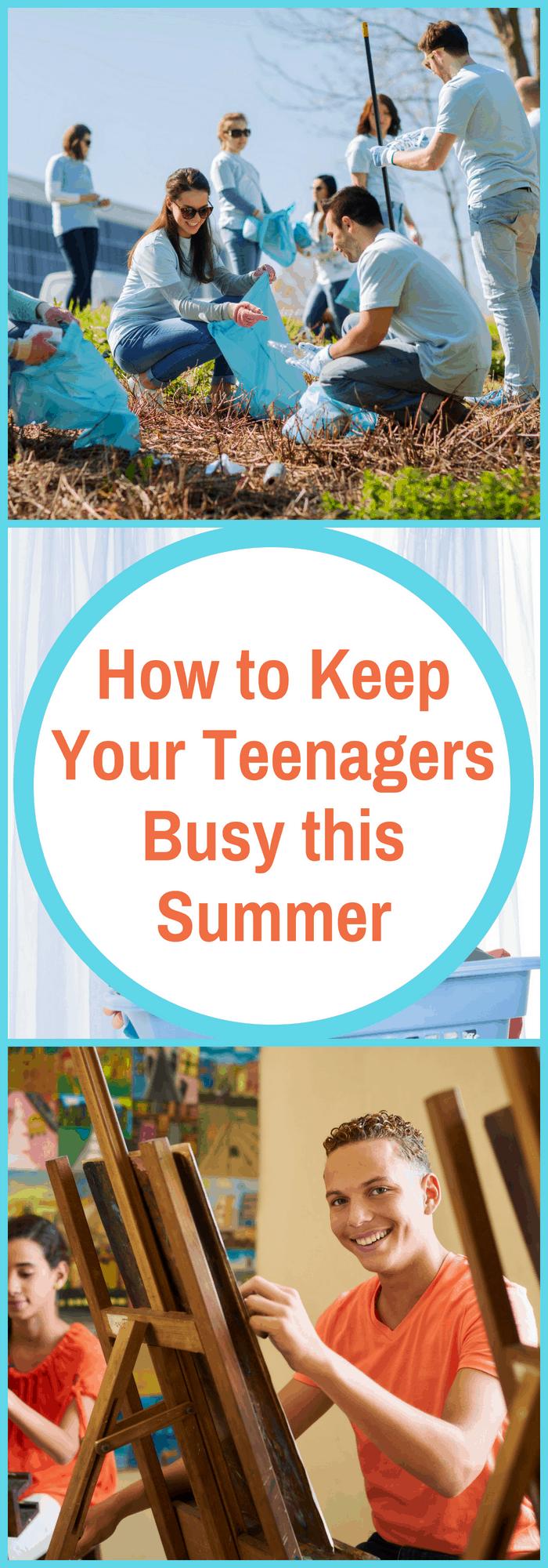 Summer Activities for Teens
