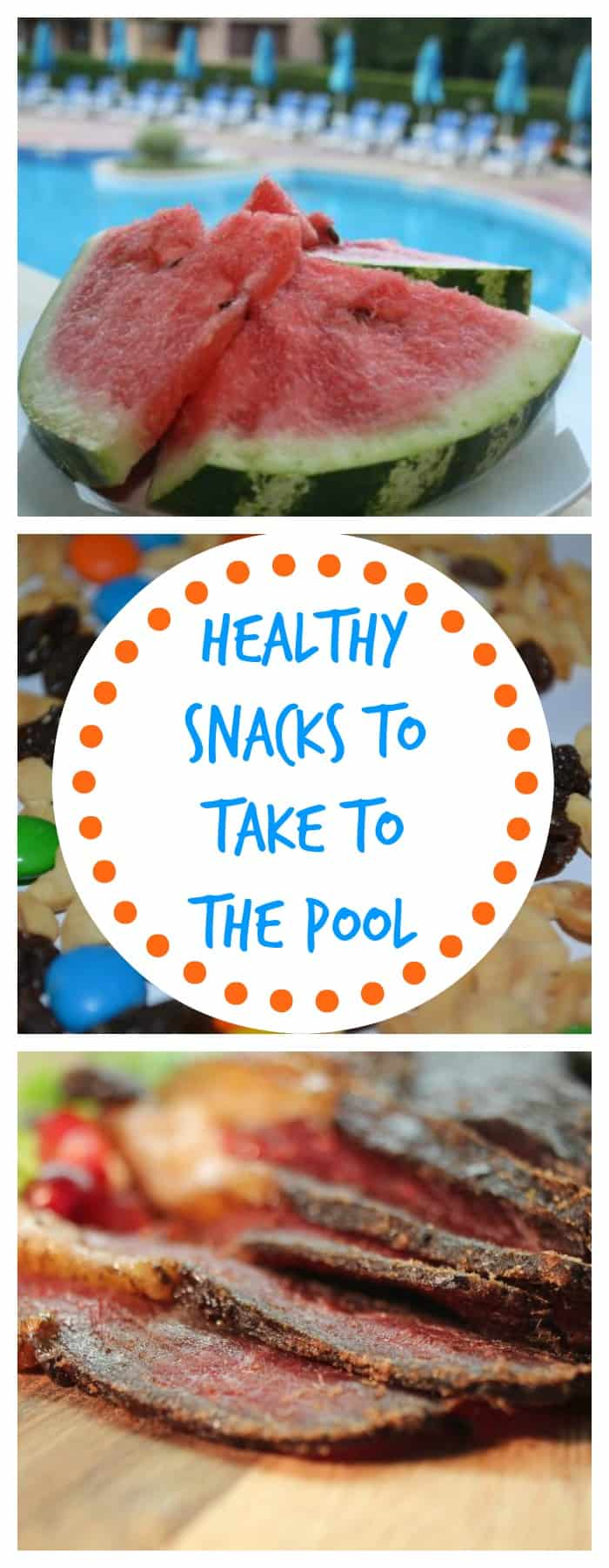 Food--Healthy Snacks to Take to the Pool--The Organized Mom