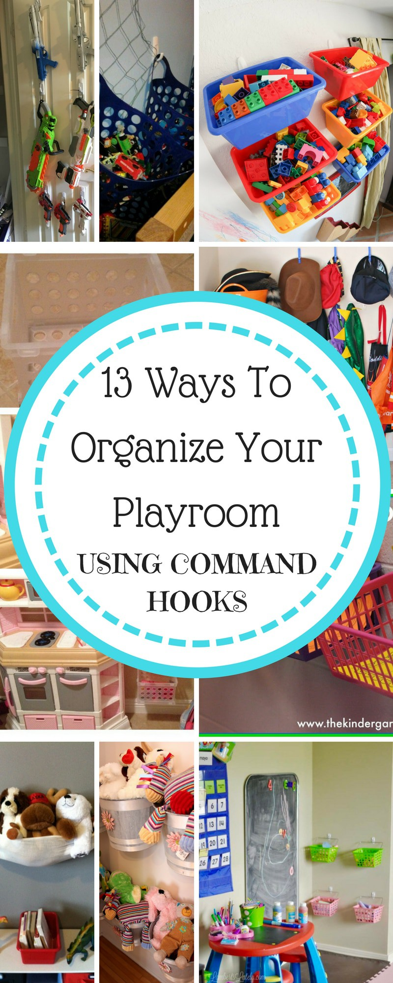 organize with command hooks
