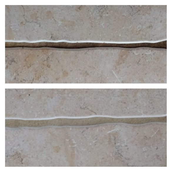 best way to clean tile grout