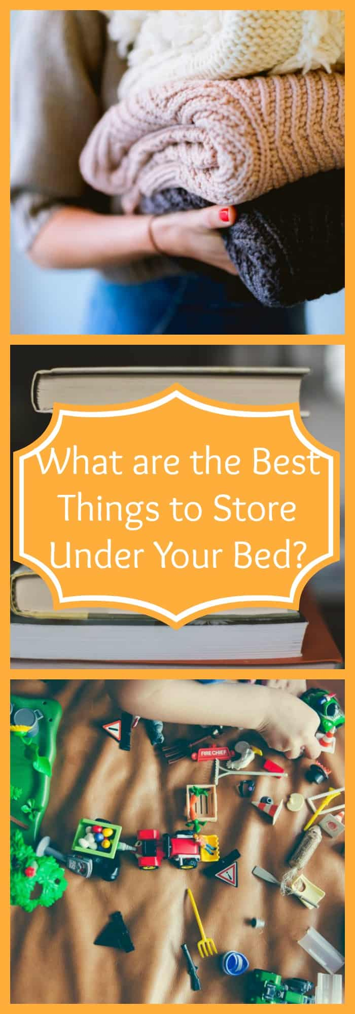 What are the Best Things to Store Under Your Bed?