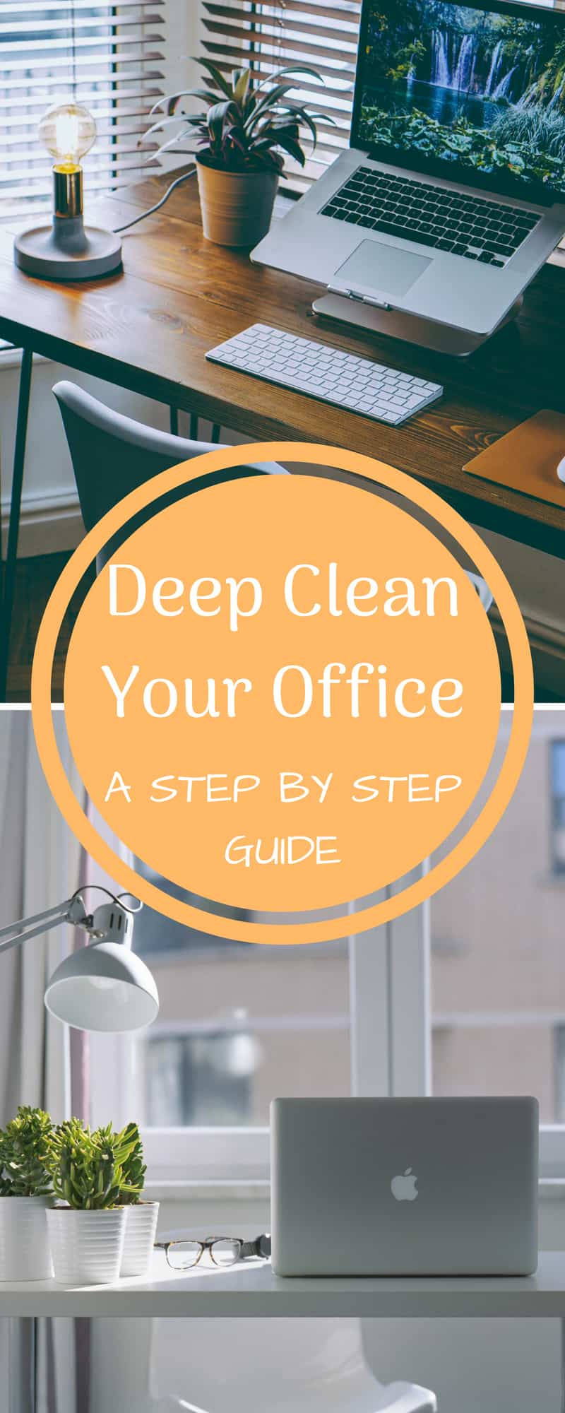deep clean your home office