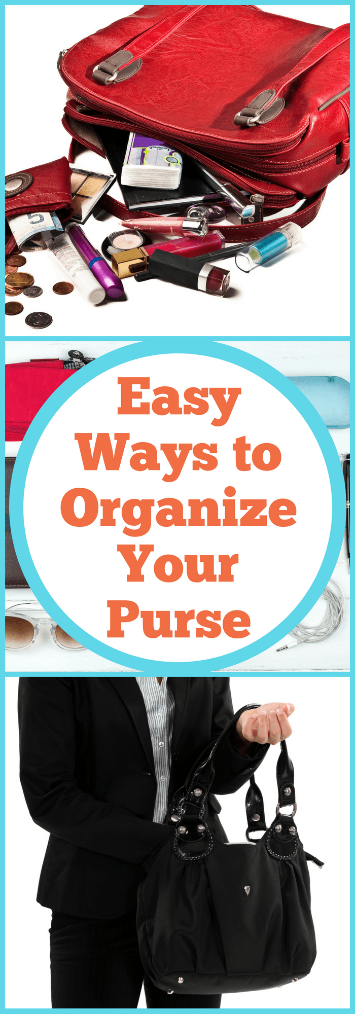 Easy Ways to Organize Your Purse
