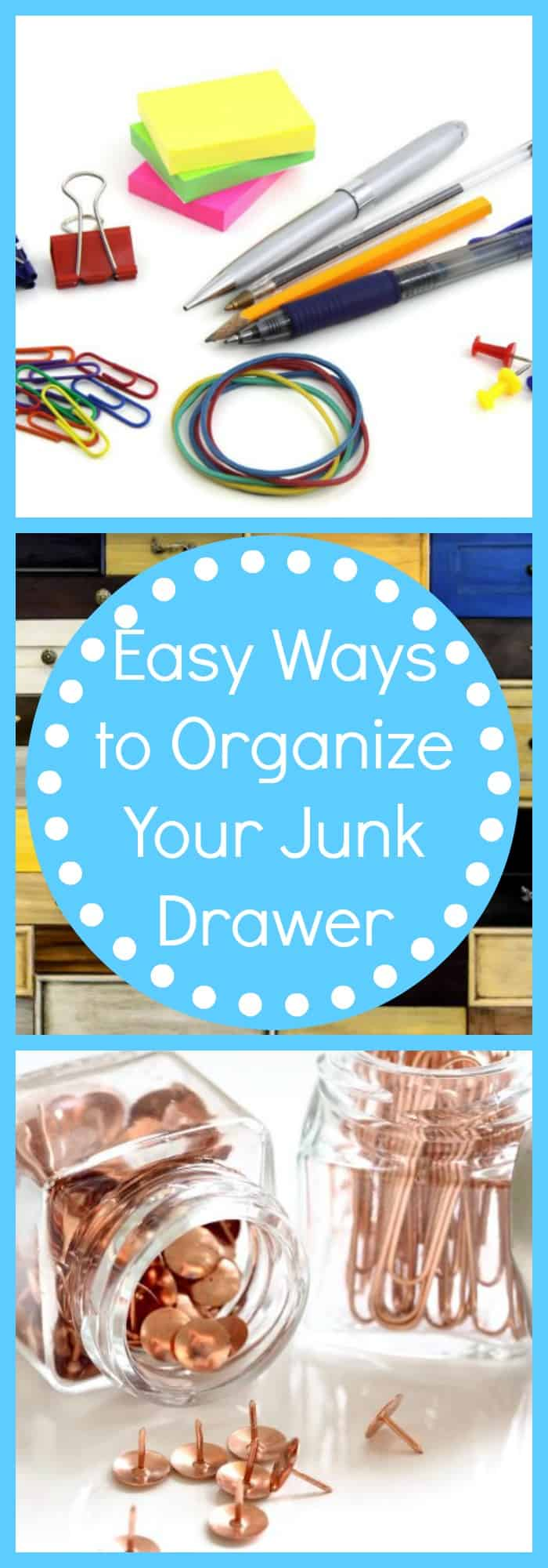 Easy Ways to Organize Your Junk Drawer