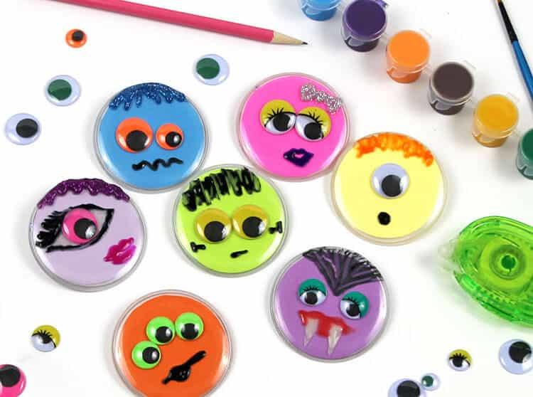 monster buttons