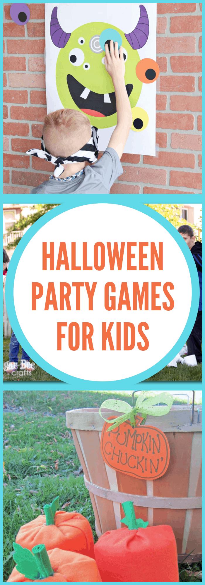 Halloween Party Activities for Kids