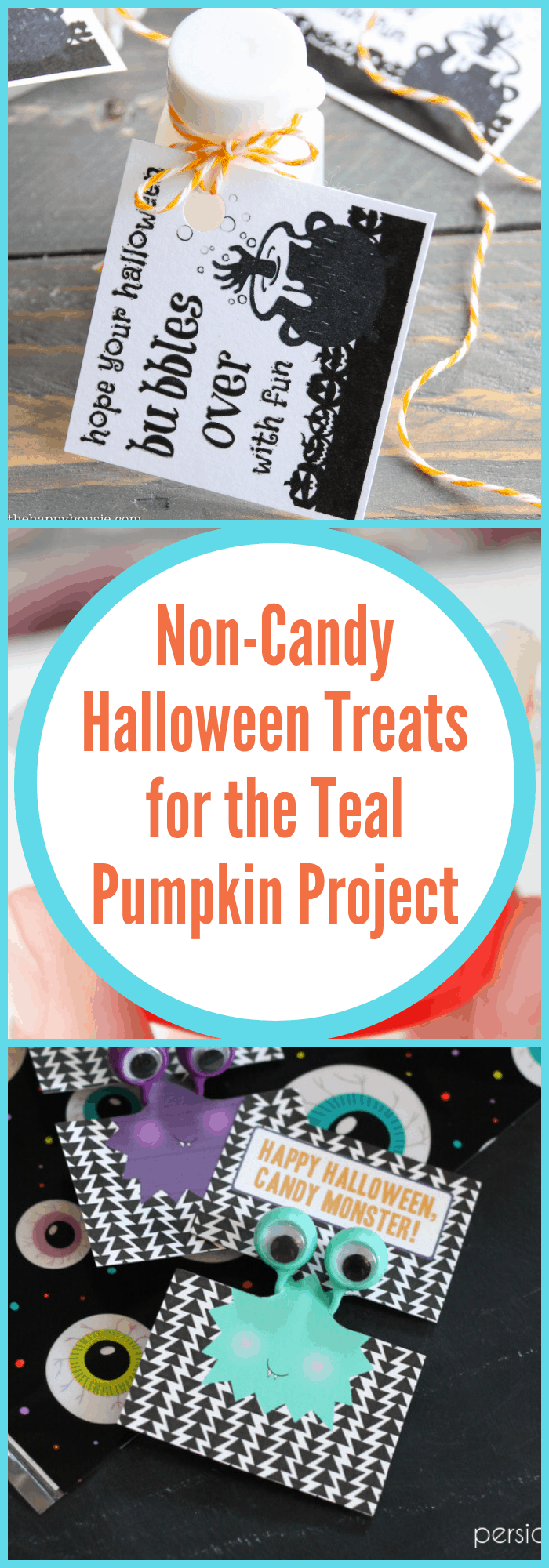 Non-candy Halloween Treats for the Teal Pumpkin Project