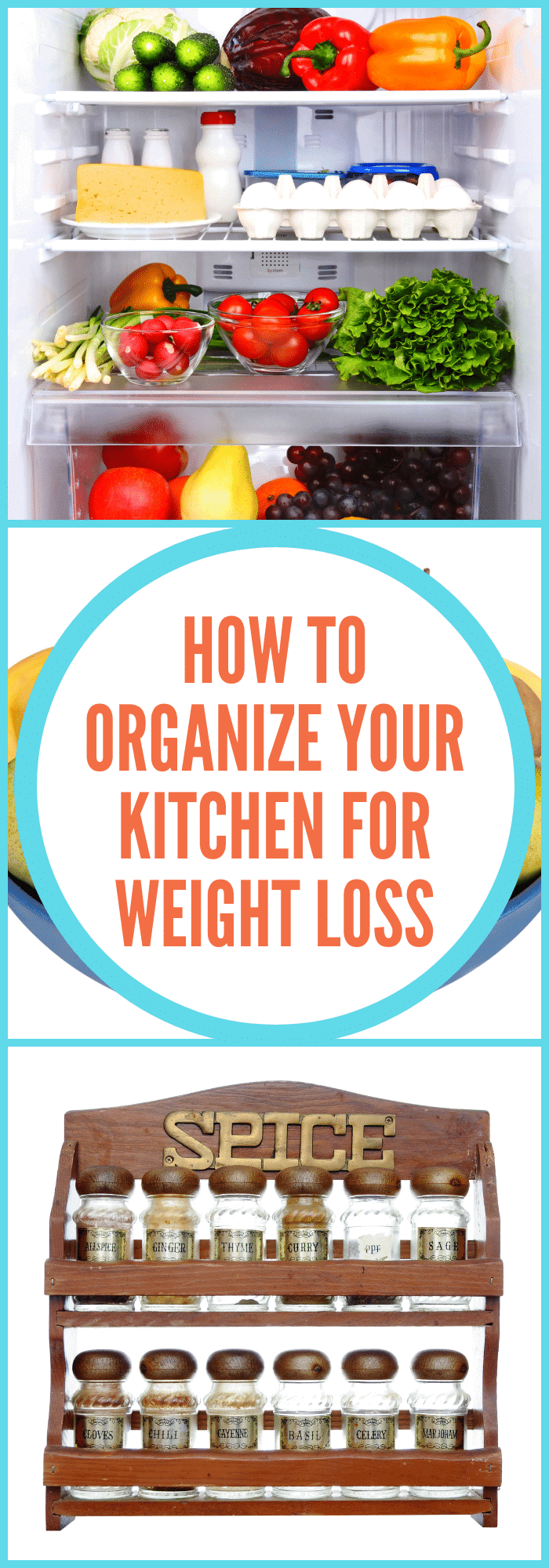 organize your kitchen for weight loss